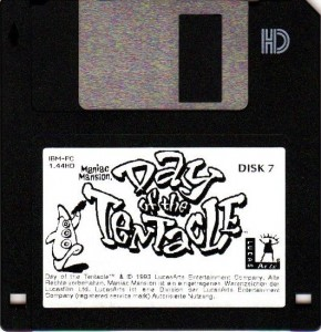 Day of the Tentacle - Disc Version