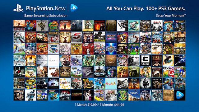 Playstation Now - Streaming Dienst